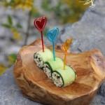 黄瓜寿司卷(早餐菜谱)