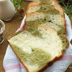 抹茶双色吐司(面包机食谱)