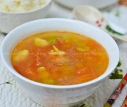 蚕豆粉丝汤