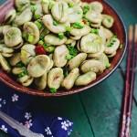 葱油蚕豆(下酒菜)