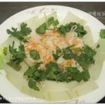 冬瓜蒸虾干(清蒸菜)