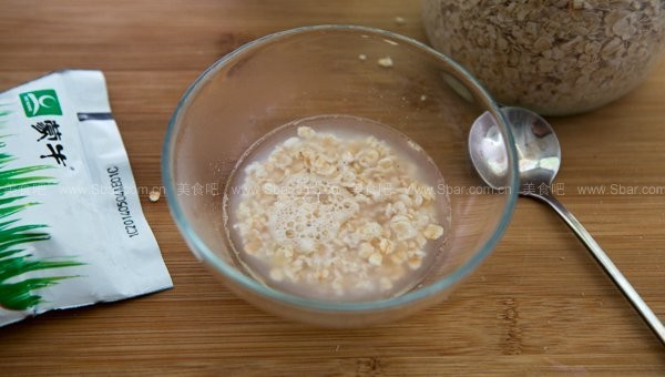 燕麦香蕉牛奶