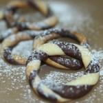 双色饼干圈(甜品点心)