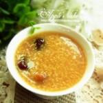 红枣桂圆小米粥(养胃补血早餐菜谱)