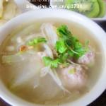 冬瓜金针肉圆汤