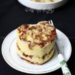 紅棗玉米發糕(早餐菜譜)