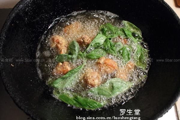 九层塔盐酥鸡