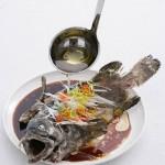 清蒸石斑鱼(清蒸菜)