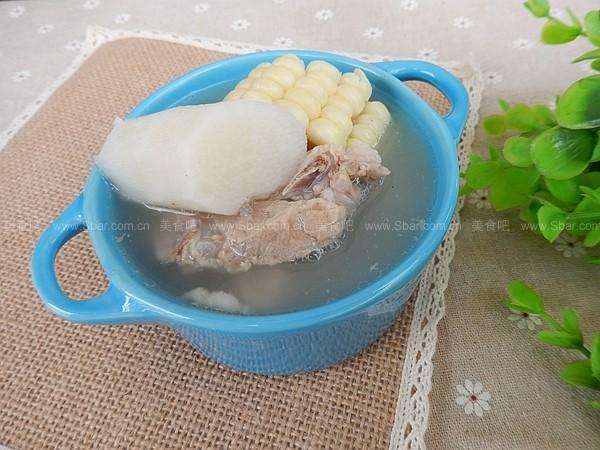 山药玉米骨汤