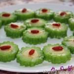 绿豆沙酿苦瓜