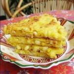 黄金玉米烙(早餐菜谱)