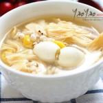 白果薏米腐竹糖水(经典粤式消暑糖水)