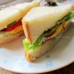 一键式吐司、鸡蛋三明治(面包机食谱)