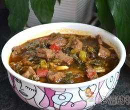 酸菜炖牦牛肉
