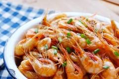 油爆白米虾