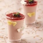 樱桃酸奶乳糕(甜品点)