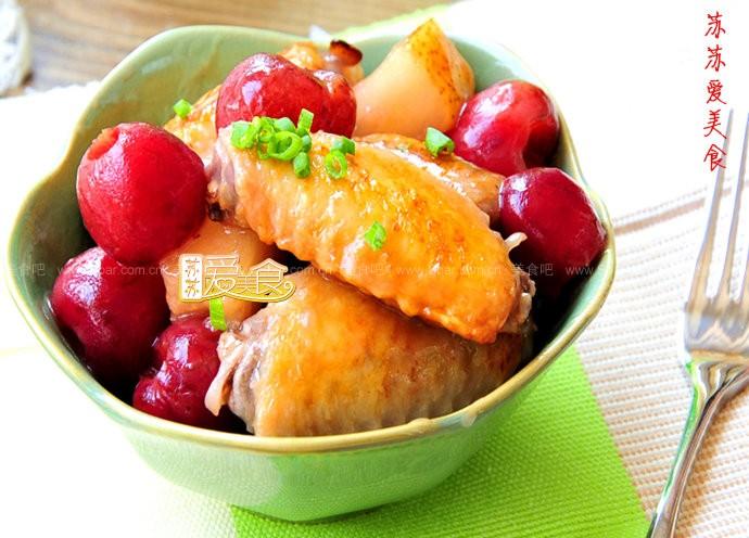 韩式樱桃鸡