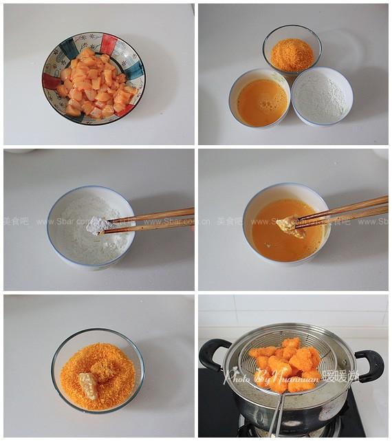 泡菜味鸡米花
