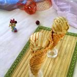 炼奶咖啡甜筒冰激凌(甜品)