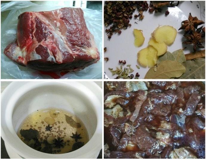 五香牛肉干