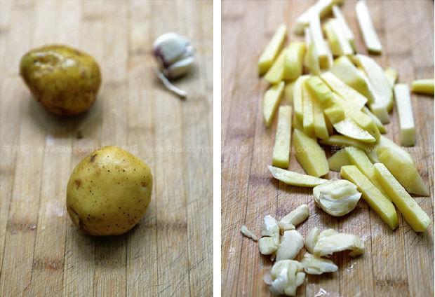 咖喱土豆条
