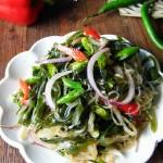 洋葱炝拌海带丝