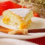 芒果酸奶夹心蛋糕(烫面蛋糕)