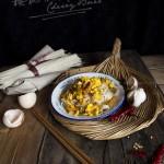 榨菜鸡蛋面(早餐菜谱)