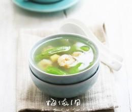 丝瓜瑶柱汤