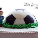 翻糖足球蛋糕(烘培世界杯)