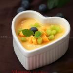 芒果布丁(甜品)