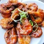 滋味红焖海虾