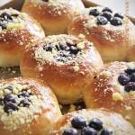 酥粒蓝莓排包(甜品点心)