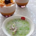 香芹鸭粥(早餐菜谱)
