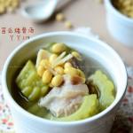 苦瓜猪骨汤(夏日消暑下火汤)