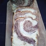 双色土司(面包机食谱)