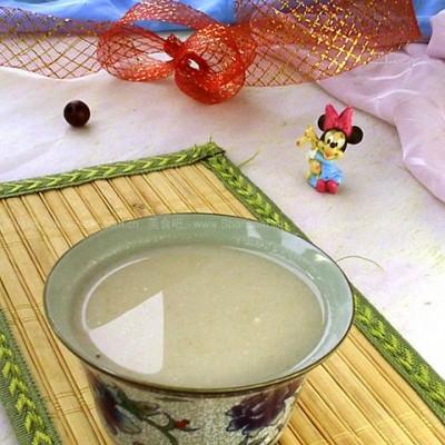 百合薏米绿豆浆