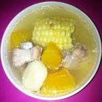 南瓜玉米汤