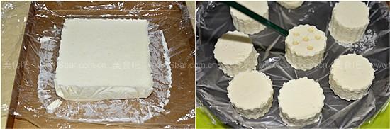 香草巴伐露百香果奶酪蛋糕卷