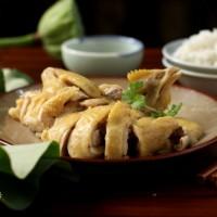 椰子炖鸡汤、荷叶蒸鸡