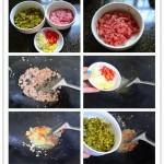 酸豆角炒肉末