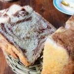 可可双色面包(面包机食谱)