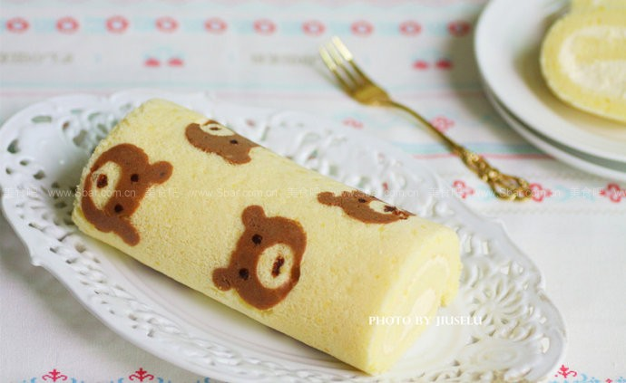 小熊蛋糕卷