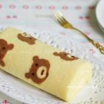 小熊蛋糕卷(甜品点心)