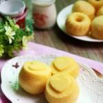 杏仁味蒸蛋糕(早餐菜谱)