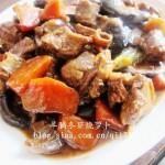 羊腩冬菇烧萝卜