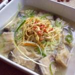 鱼骨汤面(早餐菜谱)