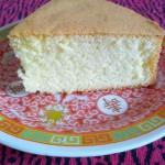 海绵蛋糕(早餐菜谱)