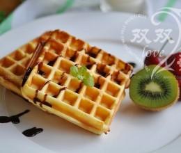 香草华夫饼