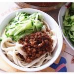 肉末醋卤面(早餐菜谱)